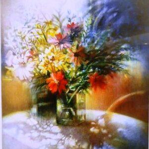 פרחים באגרטל 66X44