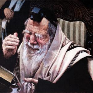 הרה'ג רבי יוחנן סופר האדמור ערלוי זצ'ל 70X50