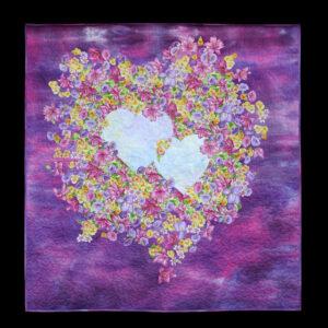 Floral_hearts 103x111cm