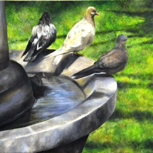 B014 oil on canvas 50x70