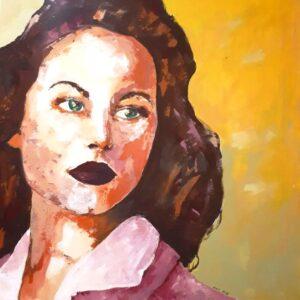 C021 Acrylic on canvas 60x60