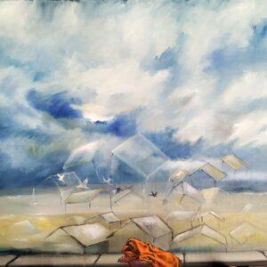 304 oil on canvas