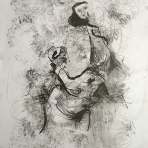 15. pencil and graphite on paperboard 70 X 50 cm