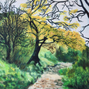 2. oil on canvas 50 X 70 cm