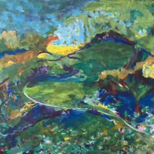 27. acrylic on canvas 70 X 70 cm