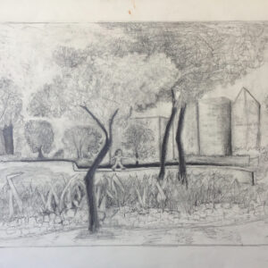 30. pencil and graphite on paper 50 X70 cm