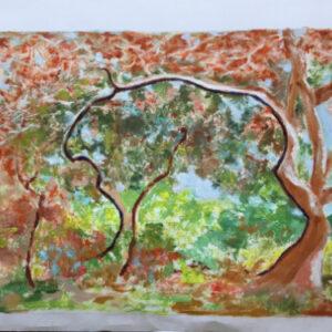 32. oil on paperboard 35 X 50 cm