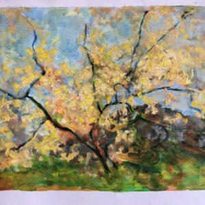 34. oil on paperboard 50 X70 cm
