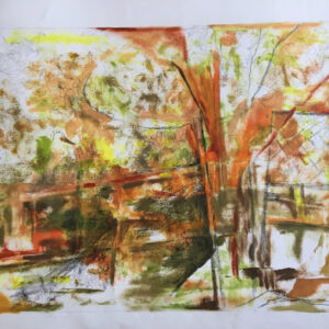 35. oil on paperboard 35 X 50 cm