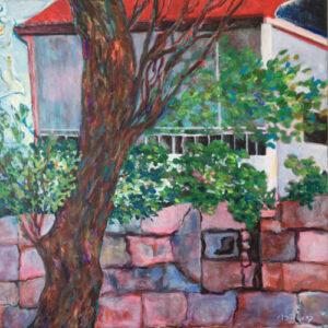 6. acrylic on canvas 70 X 70 cm