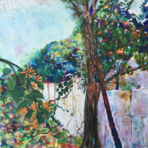 7. acrylic on canvas 70 X 70 cm