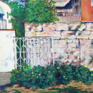 8. acrylic on canvas 70 X 70 cm