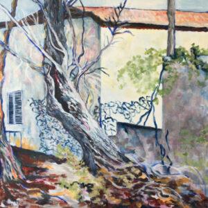 9. acrylic on canvas 70 X 70 cm